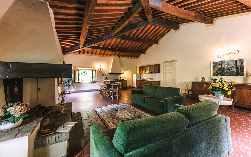 Suite Tuscania in Villa (4+4)