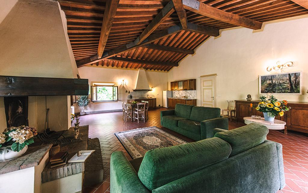 Suite Tuscania in Villa (4+4)